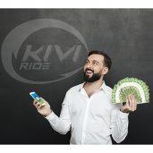 Требуются курьеры в сервис доставки Kivi ride