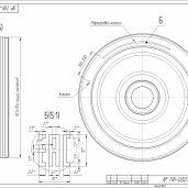 Чертеж и 3D модель КОМПАС 3D AutoCAD