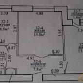 продам 2-ух комнатную квартиру в п. Привольный