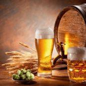 Магазин разливного пива, продуктовый