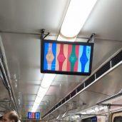 Бизнес по размещению видео рекламы в метро