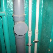 Замена и монтаж канализационных труб