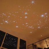 Натяжной потолок Звездное небо монтаж