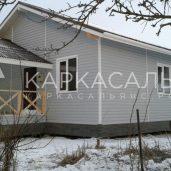 Построим Каркасный дом под ключ 6х7м проект Заславль